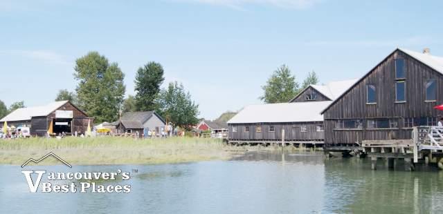 Historic Shipyard Buildings at Steveston Village