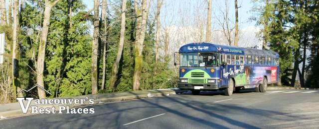 Hop-on Hop-off Bus in Stanley Park