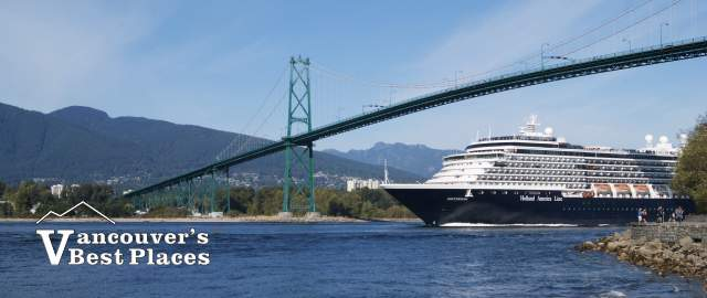 Lions Gate Bridge Cruise Ship