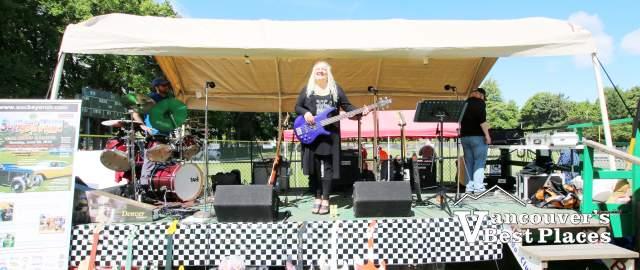 Rain Shadow Band at Sockeye Run Car Show