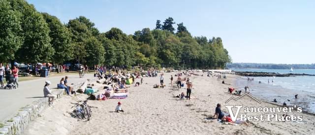 The Beach at Second Beach