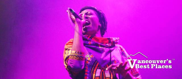 Tonye Aganaba in Concert