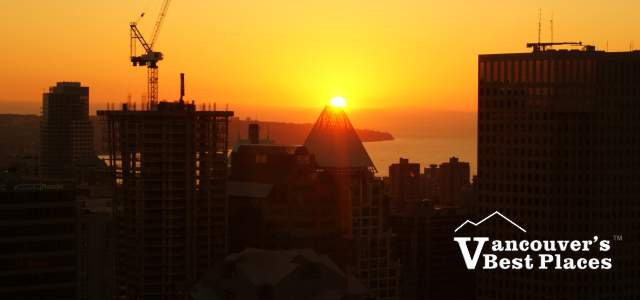 Vancouver Lookout Sunset