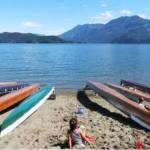 War Canoes on the Beach