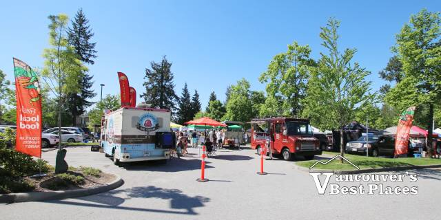 Coquitlam Farmers Market Food Trucks