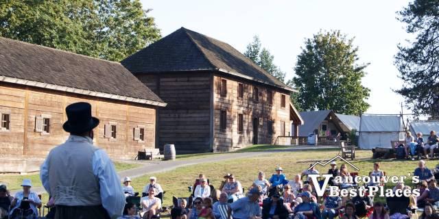 Fort Langley Brigade Days