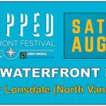 Lower Lonsdale Shipped Waterfront Festival Banner