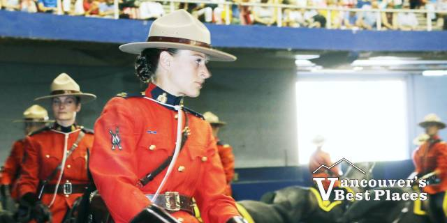 RCMP Musical Ride Performers