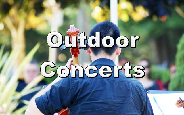 Free Outdoor Concerts