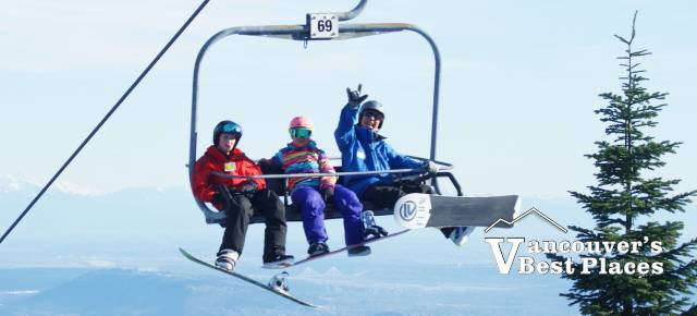 People on Cypress Chair
