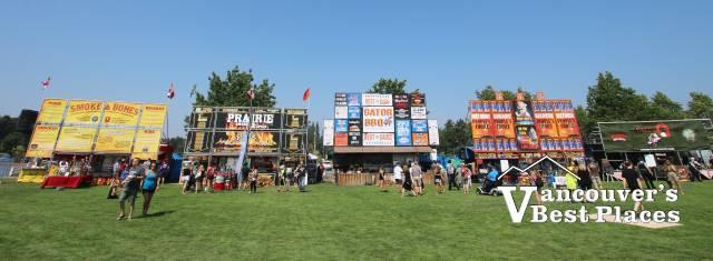 Ribfest Langley BBQ Rib Vendors