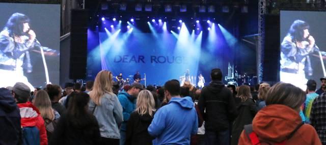 Dear Rouge on Skookum Mountain Stage