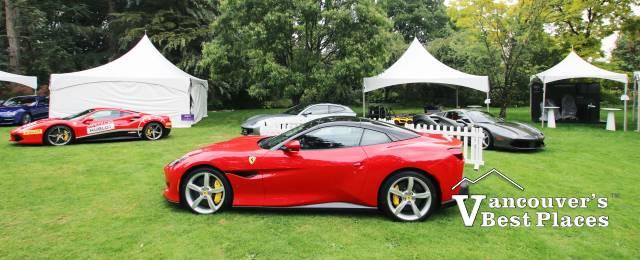 Ferrari at VanDusen Gardens