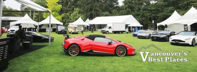 Lamborghini at VanDusen Gardens
