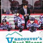Vancouver Giants Bench