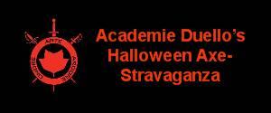 Academie Duello's Halloween Axe-Stravaganza