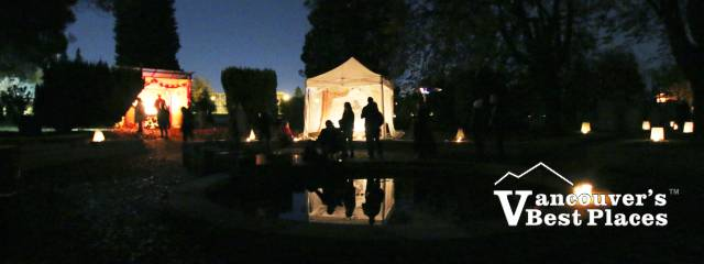 All Souls Night Tents and Silhouettes
