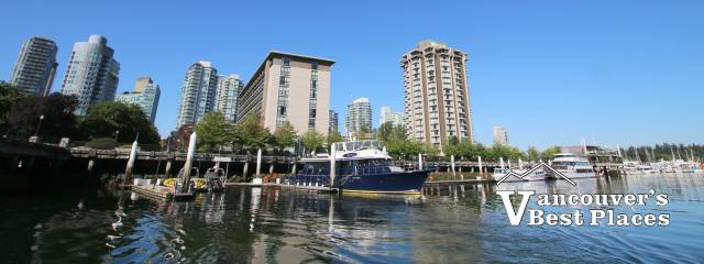 Coal Harbour Waterfront Near Westin Bayshore