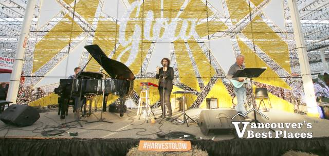 Cory Alstad Trio on Glow Harvest Stage