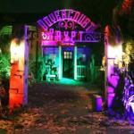 Dovercourt Crypt at Halloween