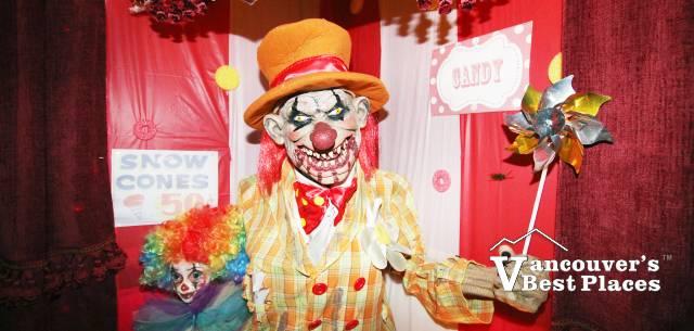 Haunt of Edgemont Halloween Carnival Clown