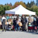 People at UBC's Apple Festival (CS)
