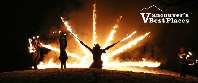 Solstice Festival Fire Show