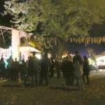 Stanley Park Halloween Crowds