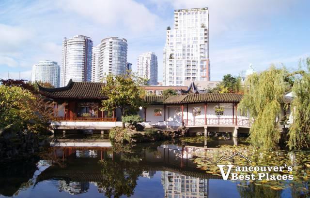 Dr. Sun Yat-Sen Garden from the Park