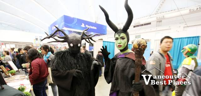 Vancouver Fan Expo Characters