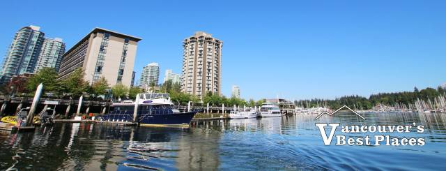 Coal Harbour and the Westin Bayshore
