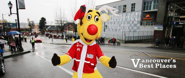 Operation Red Nose Reindeer Mascot