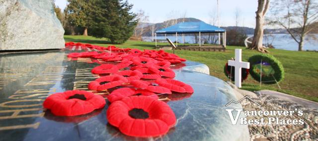 Remembrance Day at Cates Park