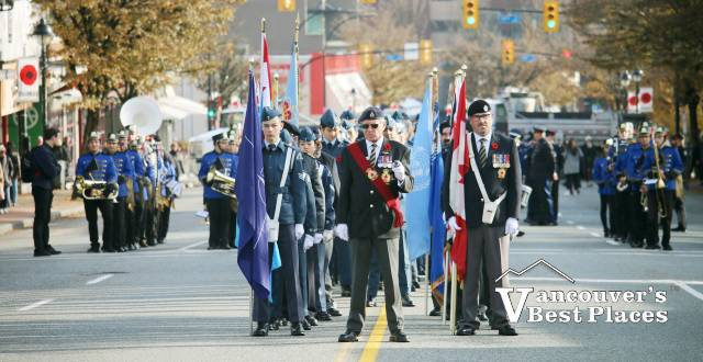 Remembrance Day in West Vancouver