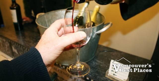 A Wine Festival Glass of Wine