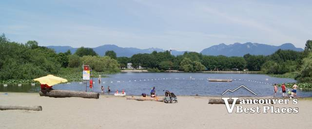 The Beach at Trout Lake