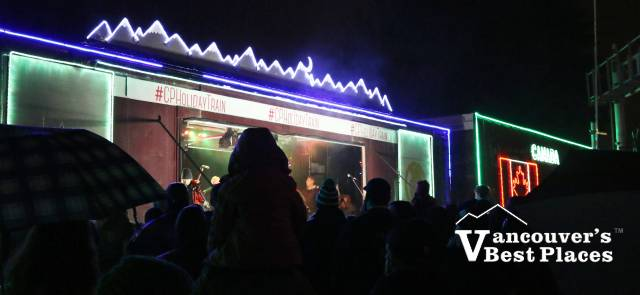 CP Holiday Train Silhouettes