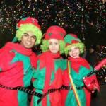 Christmas Tree Lighting Characters