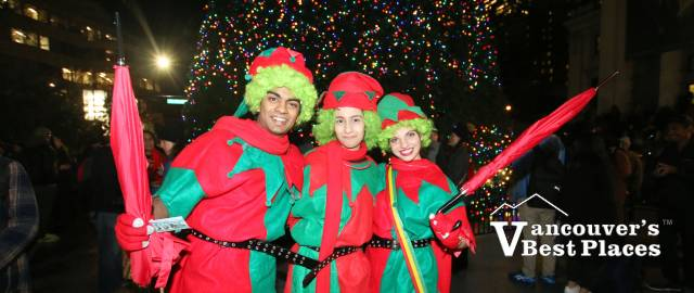 Christmas Tree Lighting Characters