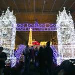 England's Tower Bridge at Glow Christmas