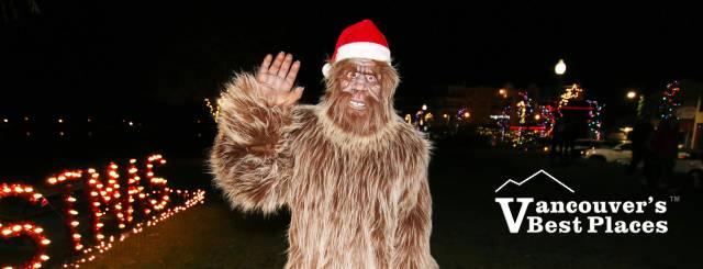 Harrison Christmas Sasquatch
