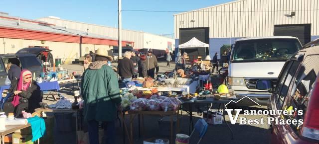 Abbotsford Flea Market Shoppers