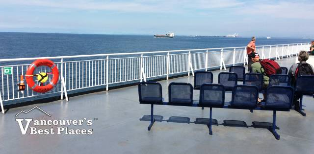 BC Ferry Outer Deck