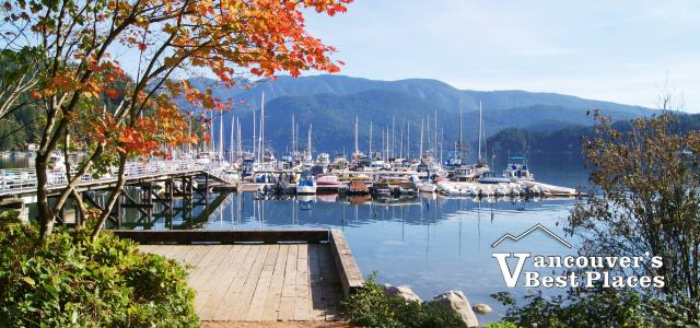 Boats in the water at Deep Cove in North Vancouver