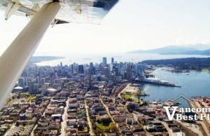 Harbour Air View of Vancouver