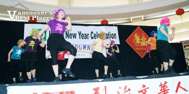 Lansdowne Mall at Chinese New Year