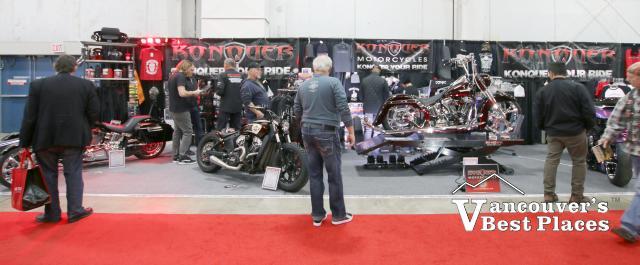 Vancouver Motorcycle Show Vendor Display