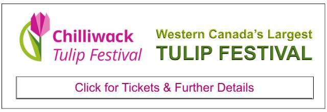 Chilliwack Tulip Festival Tickets Banner
