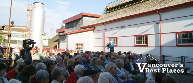 Outdoor Concert at Gulf of Georgia Cannery
