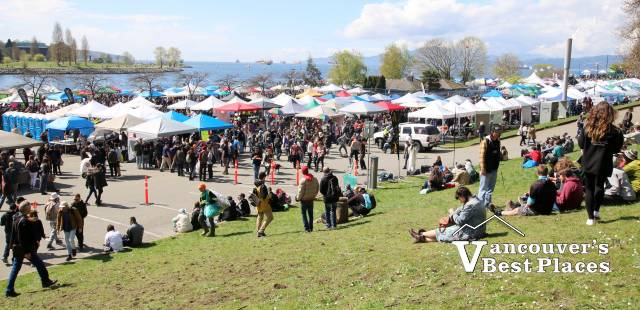 420 Vancouver Market at Sunset Beach